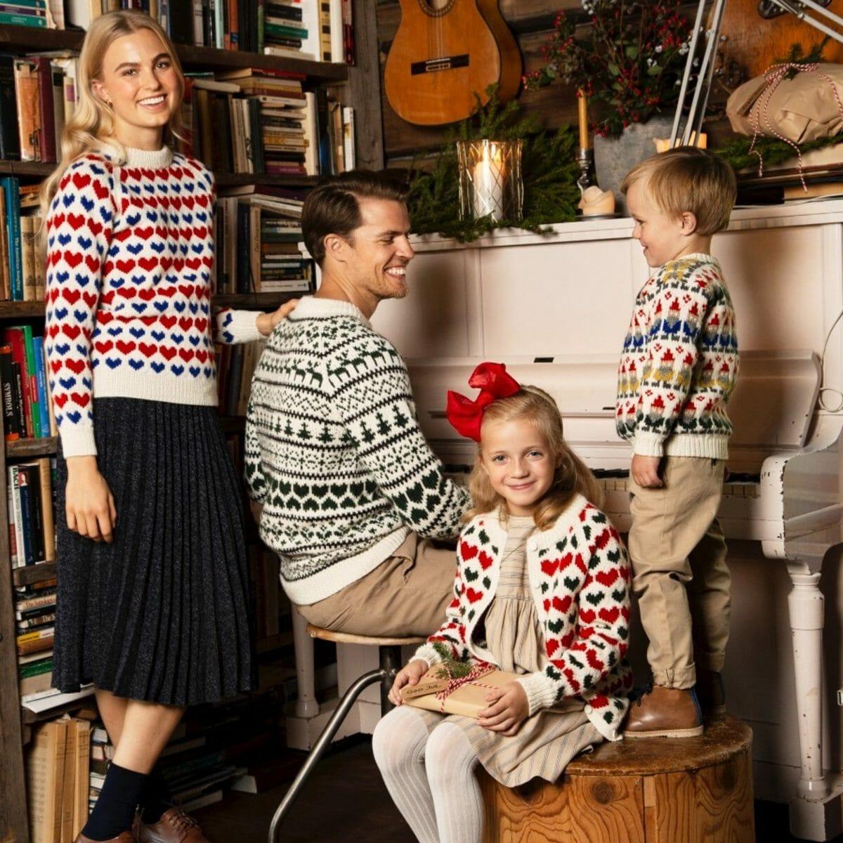 Julegenser til dame i Mitu fra Rauma garn