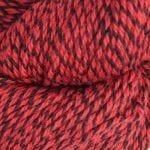 Rød/svart moulinert 4503