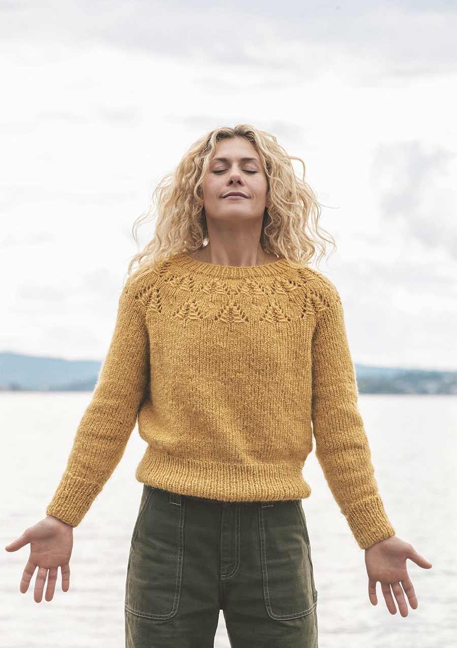 Cecilie Skog genser