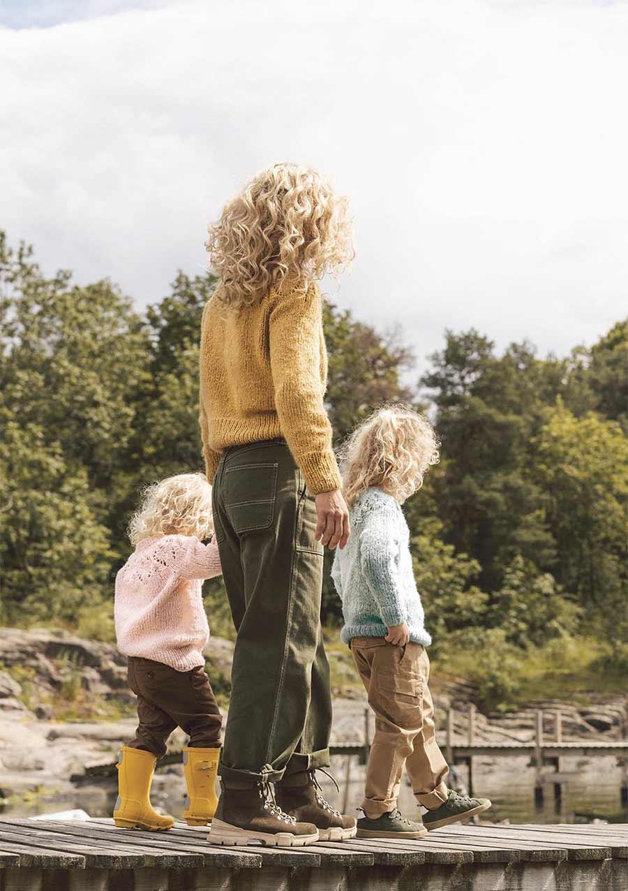 Skog genser til barn Ulla Garn og Broderi AS