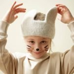 , påske, påskestrikk, hareører, ører, toving, pannebånd, rauma, 370-2, R370-2, hefte 370, påskeoppskrift