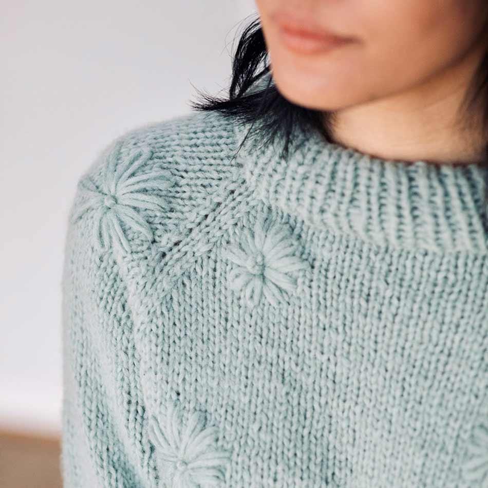 Daisy strikkepakke Rauma Garn