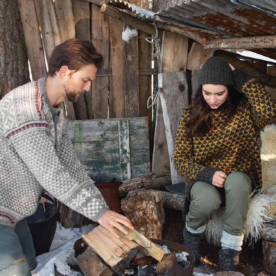DNT Mogen strikkepakke