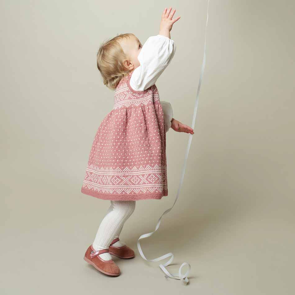Setesdalkjole strikkepakke barn