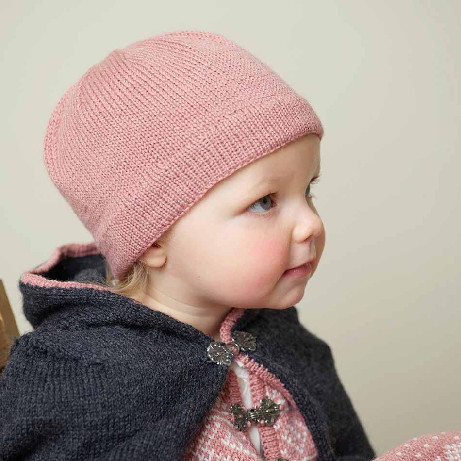 Cape strikkepakke barn