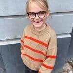 Marseille Sweater Junior Strikkepakke barn
