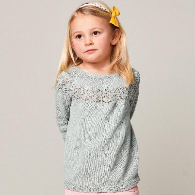 Peon genser strikkepakke barn